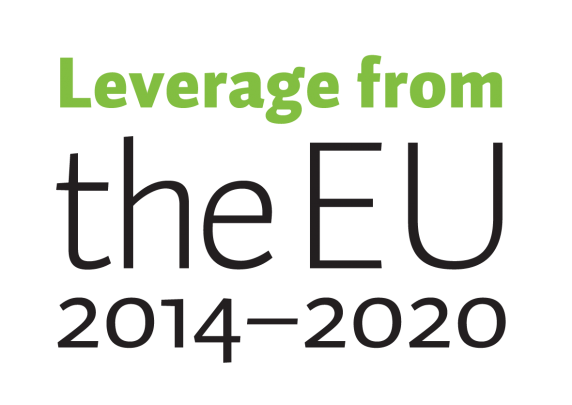 Leverage from the EU 2014-2020 logo